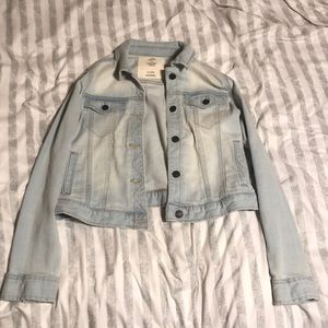 Light Wash Youth Denim Jacket